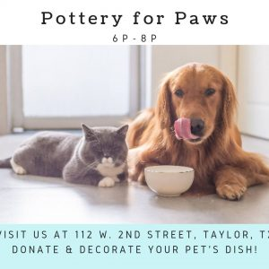 Pottery for Paws